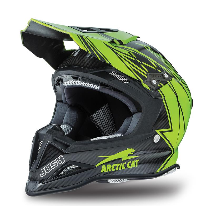 Arctic Cat Inc Mx Sno Cross Sno Pro Helmet Green X