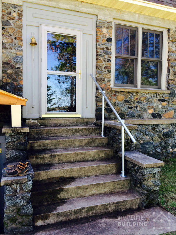 Exterior Stair Railing Kits