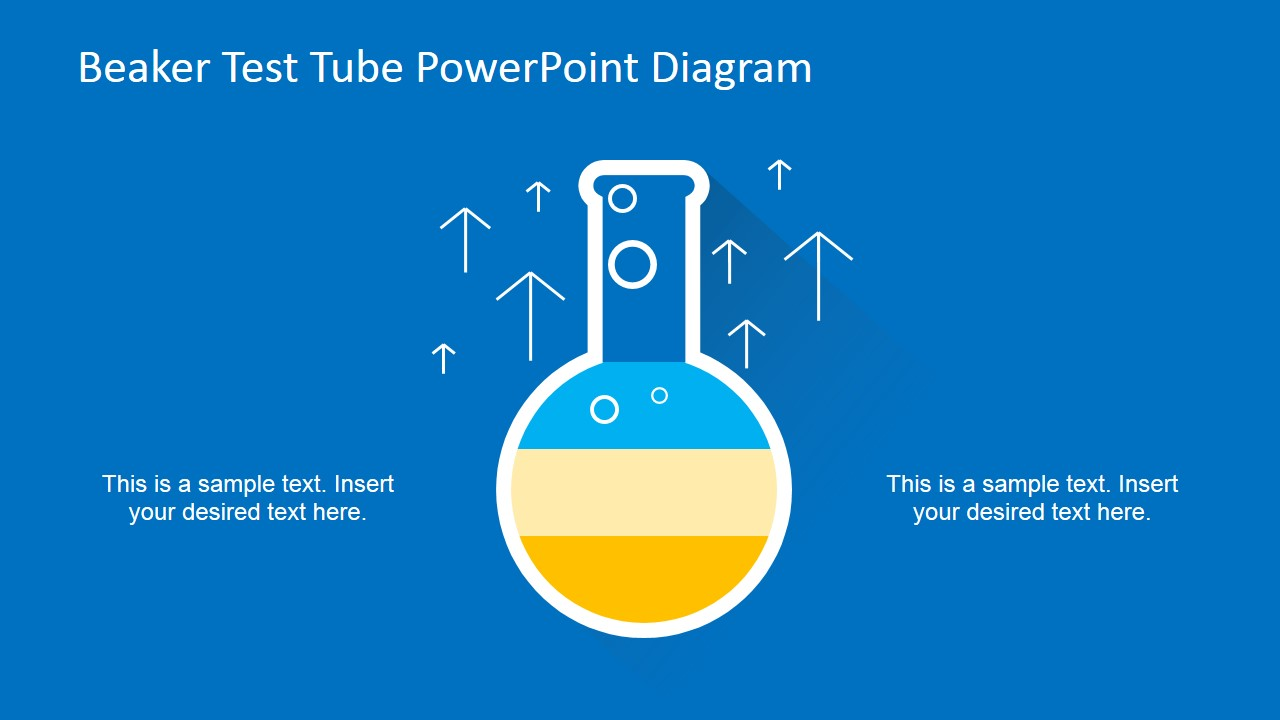 Beaker Test Tube Powerpoint Diagram Slidemodel