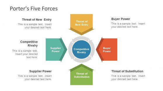 Porter Five Force Powerpoint Templates