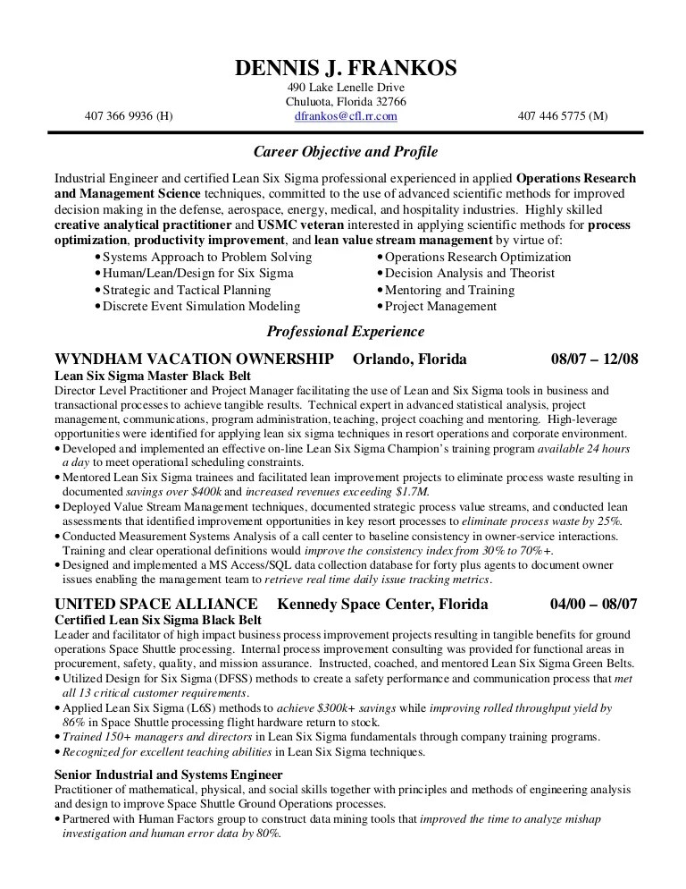 6 Sigma Black Belt Certification