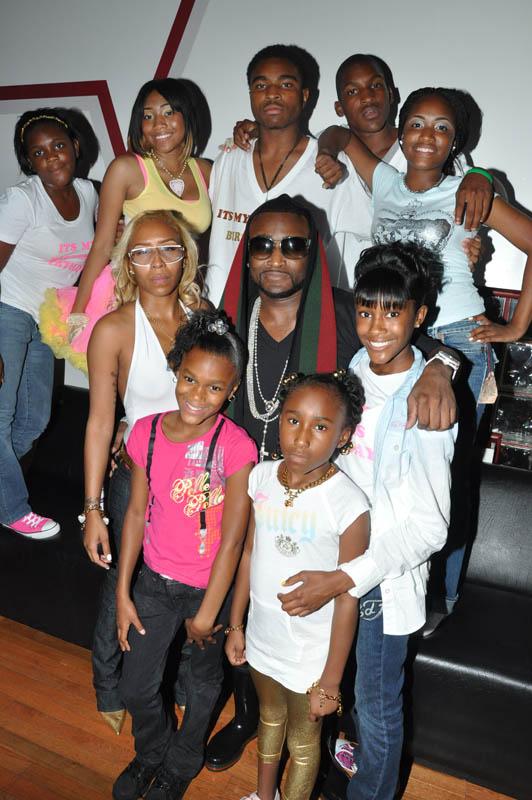 Katt Williams And His Family