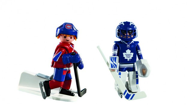 Playmobil to launch NHL line      strategy Playmobil has partnered with the NHL on an upcoming toy line  the first  licensing deal for the company and part of an effort to strength its brand  awareness