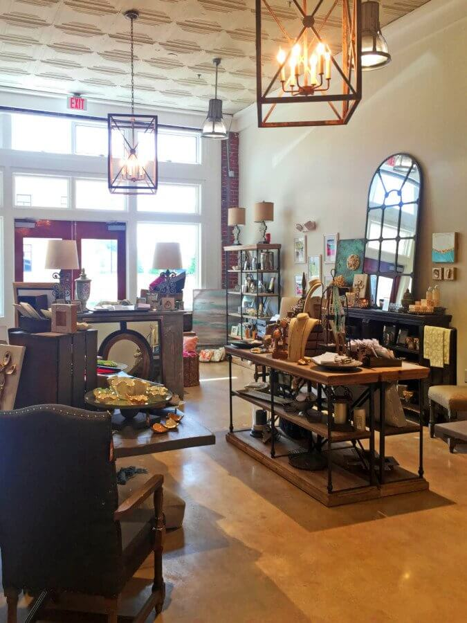 Tuscaloosa  Where to Shop  Eat   Play Lou and Company s interior is eclectic  charming and perfect for a shopping  day with the