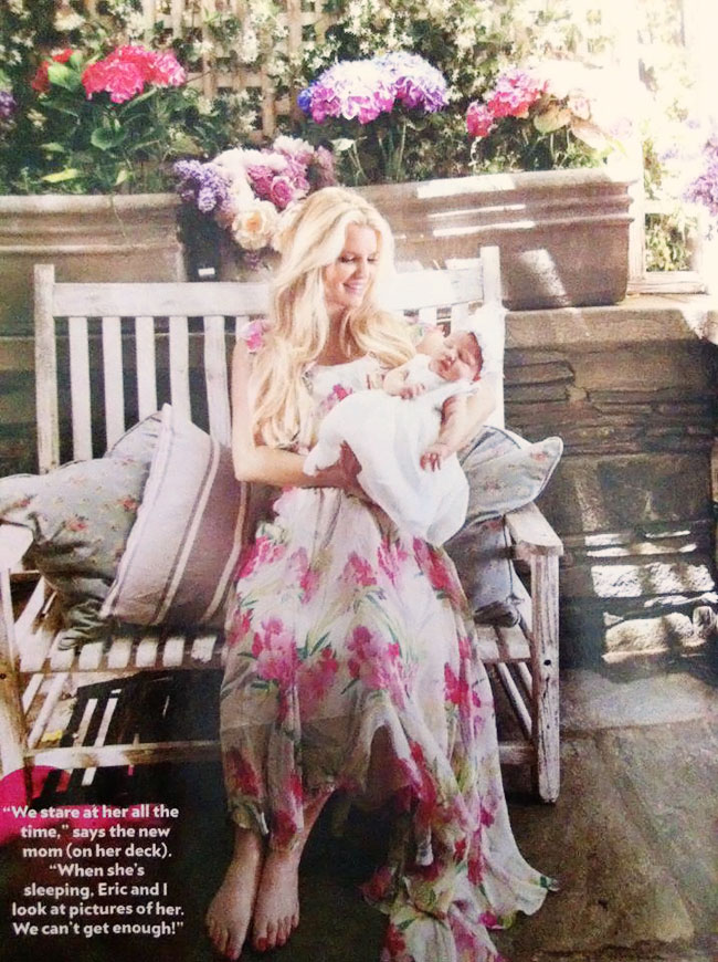 Jessica Simpson Introducing Baby Girl Maxwell In People