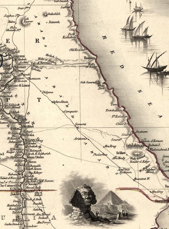 Map Europe Egypt