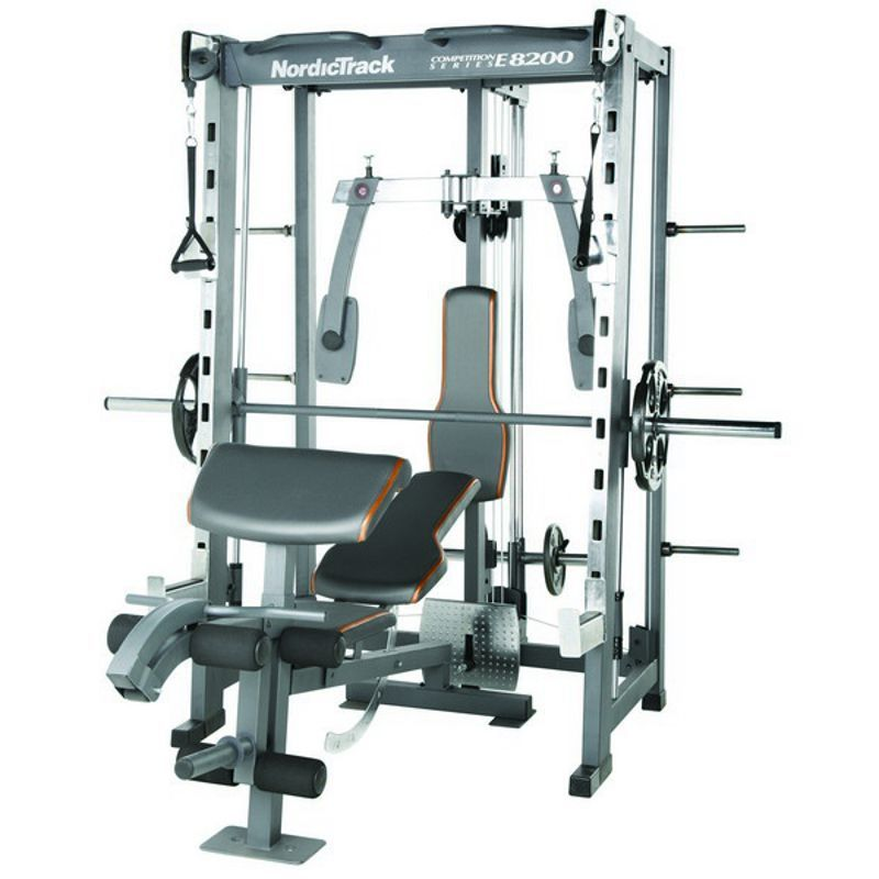 Nordictrack E8200 Competition Series Smith Machine
