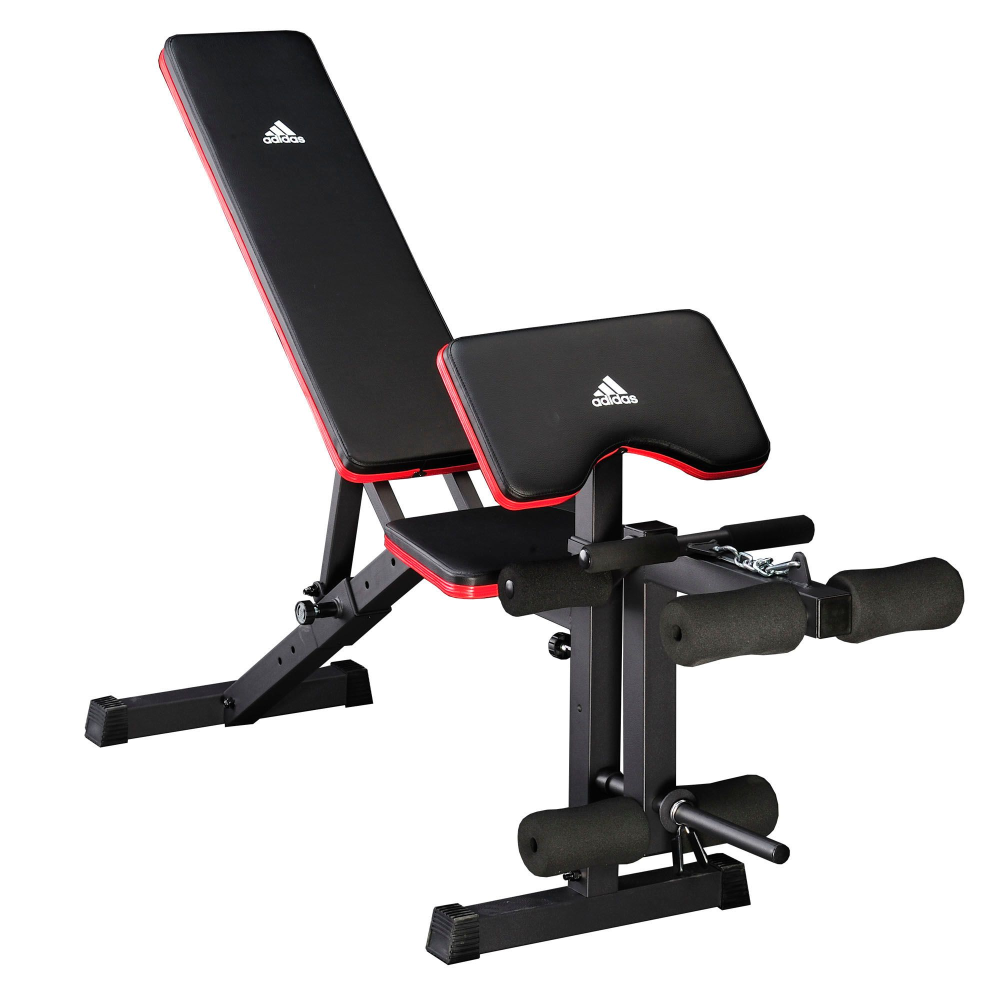 Adidas Essential Weight Bench And Viavito 50kg Cast Iron