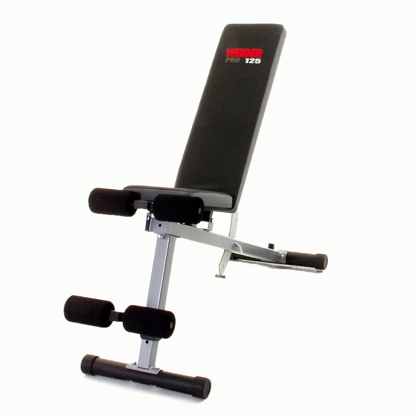 Weider Pro 125 Utility Weight Bench Sweatband Com
