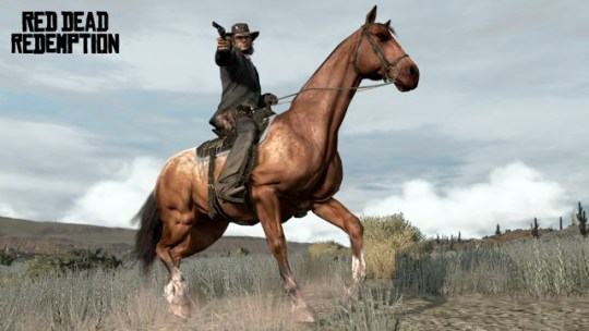 8 games with awesome horses  in honor of the year of the horse  red dead horse