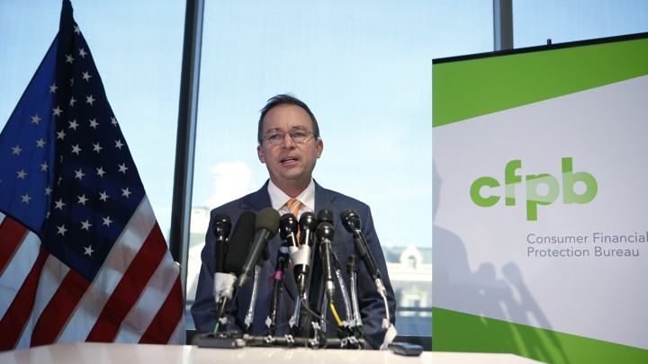 The CFPB and the Bipartisan Loss of Faith in Politics   The Atlantic Joshua Roberts   Reuters