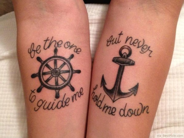 21 Remarkable Couples Tattoos for Everlasting Love