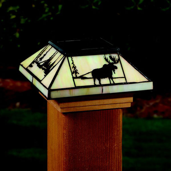 X Solar Post Cap Lights