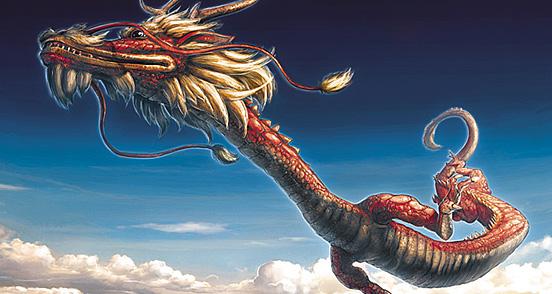 30 Inspiring Eastern Dragon Illustrations | The Design ...