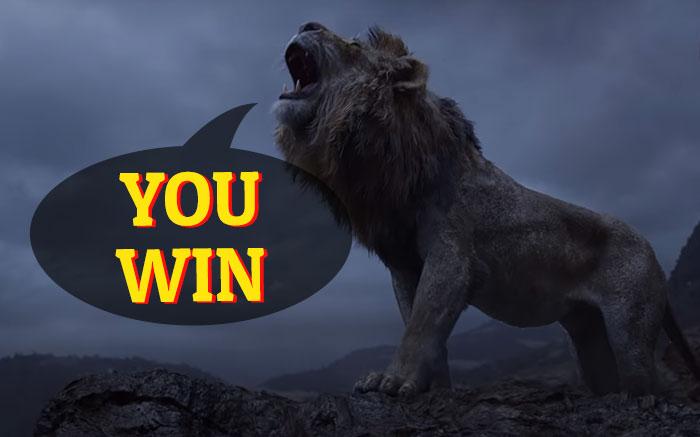 King Sarafina Lion