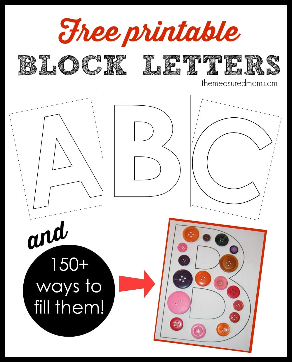 Extra Large Alphabet Letters Printable