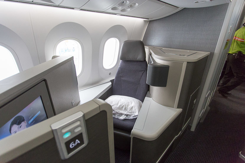 Review Aa 787 Dreamliner Business Los Angeles To Shanghai