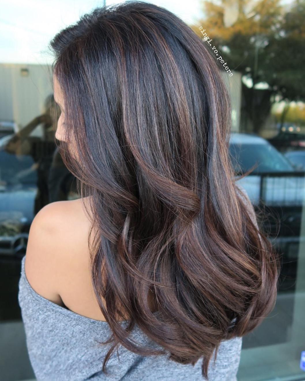 Dark Hair Multi Color Highlights Hrotelrehberii