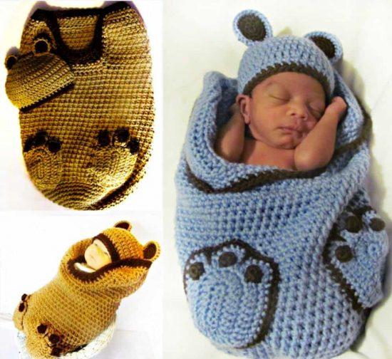 Football Baby Cocoon Pattern Free