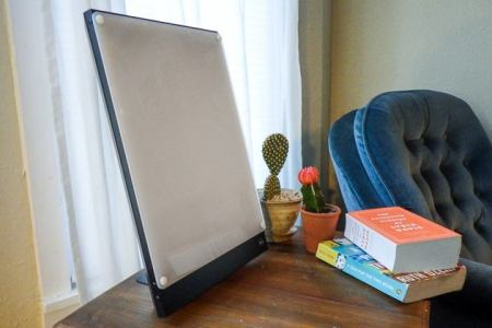The Best Light Therapy Lamp  Reviews by Wirecutter   A New York     Also great  Northern Technology Boxelite Desk Lamp