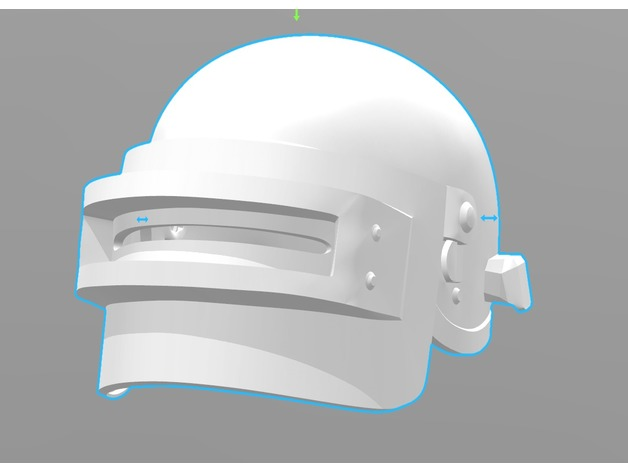 Pubg Level 3 Helmet By Rainyfire Thingiverse
