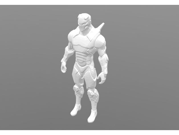Fortnite Carbide Character By Lulu1491 Thingiverse