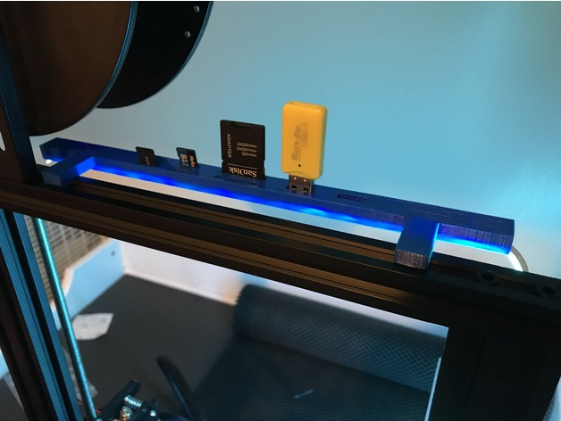 Ender 3 Led Strip By Npb518 Thingiverse
