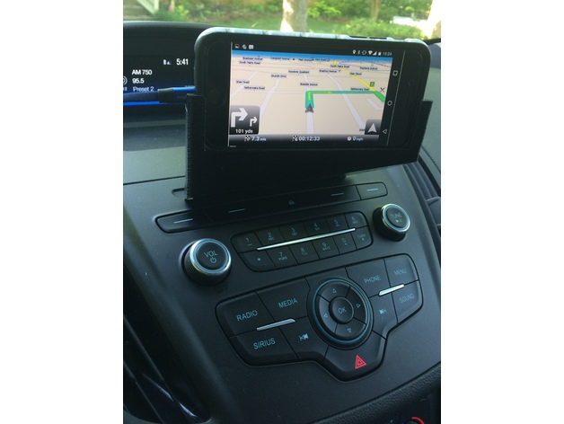 2018 Ford Escape Phone Holder By Bcjams Thingiverse