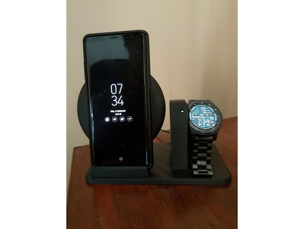 Samsung Galaxy Note 8 And Gear S3 Wireless Charging Stand