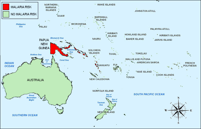 Scale Map French Polynesia
