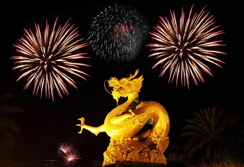 Lantern Chinese Drawing Year New