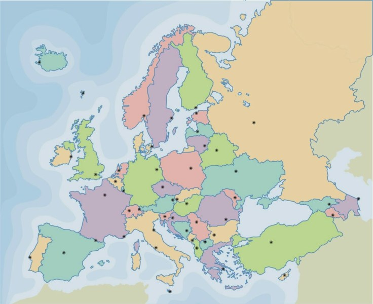 Europe  Political map   ThingLink 2 years ago 47