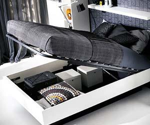Hydraulic Storage Bed