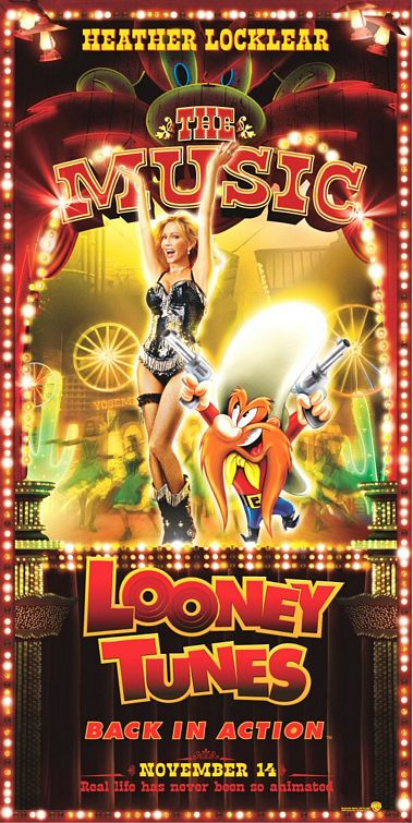 Back Looney Elfman Action Tunes Jenna