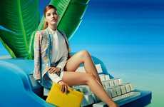 Provocative Housewife Fashion Ads : Agent Provocateur SS14