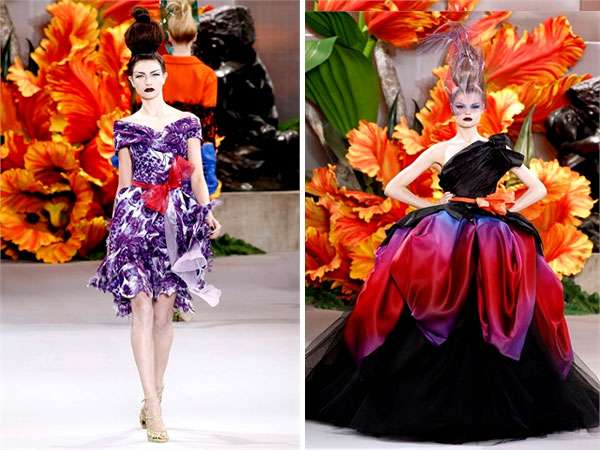 Fruit Basket Couture Christian Dior Fall 2011
