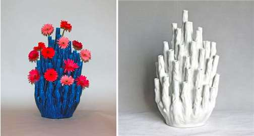 Floral Coral Reefs The Fifty Tulip Vase Provides A Bit Of