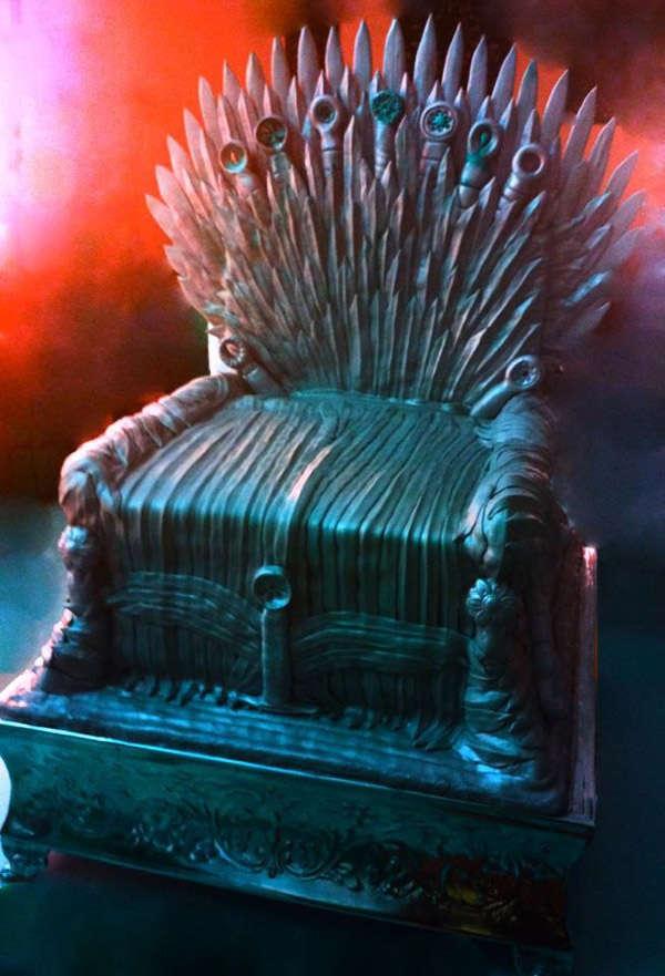 Fantasy Throne Cakes Iron Throne Cake