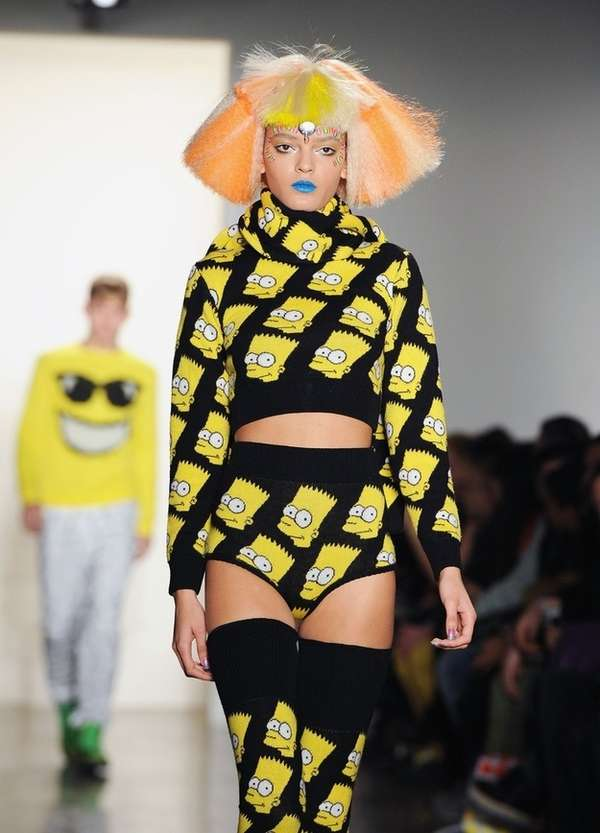 Cartoon Couture Jeremy Scott Fall Winter 2012 Collection