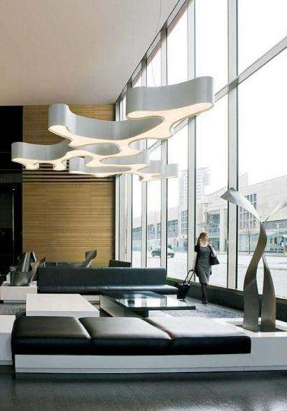 Modular Modern Lighting Pete Sans Ameba Can Shine In