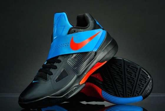 Cross Strap Hoop Kicks Nike Zoom Kd Iv