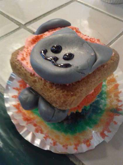 Feline Meme Desserts Nyan Cat Cupcakes