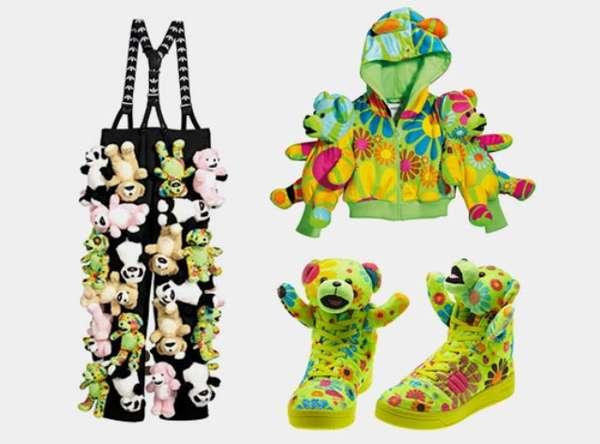 Teddy Bear Shoes Adidas