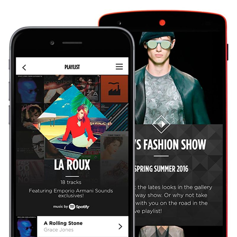 High Fashion Music Apps   Runway Music High Fashion Music Apps