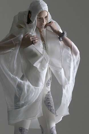 Transparent Futuristic Fashion Anna Holvik Gets