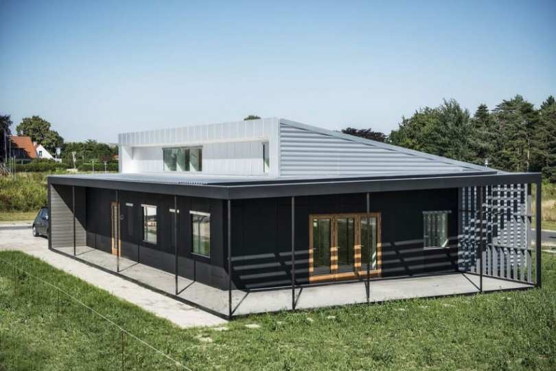 40 Modern Shipping Container Homes for Every Budget View in gallery Upcycle House by Lendager Arkitekter