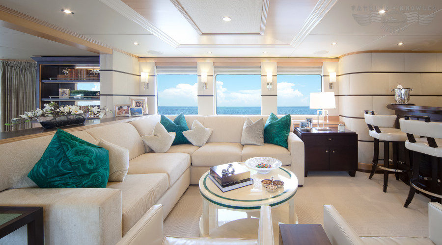 Best Modern Yacht Interior Designs View in gallery MYSORAH by Patrick Knowles Design