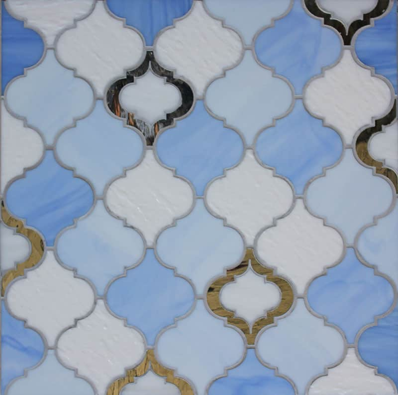 Moroccan Style Glass Tile From Edgewater