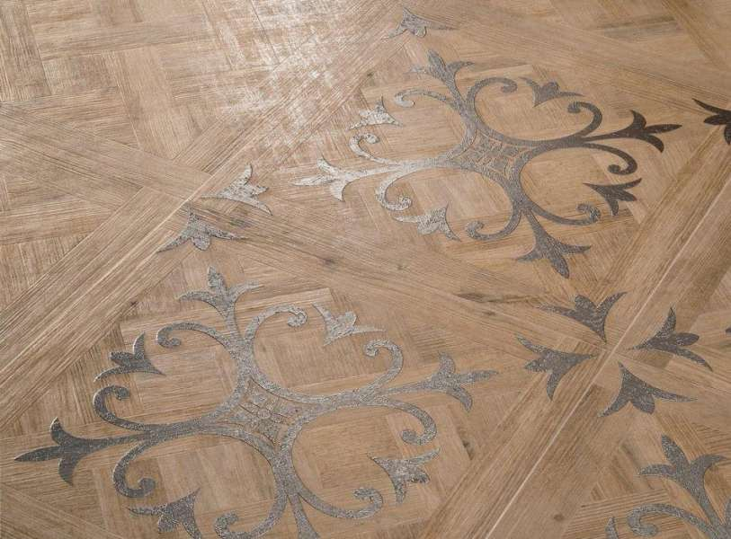Wood Look Tile  17 Distressed  Rustic  Modern Ideas View in gallery vintage parquet look tiles sabbia ariana jpg