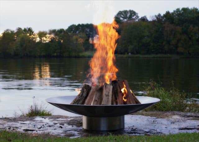 Metal Fire Pit Bowl